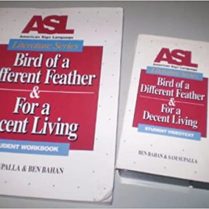Bird of a Different Feather Videotape cover