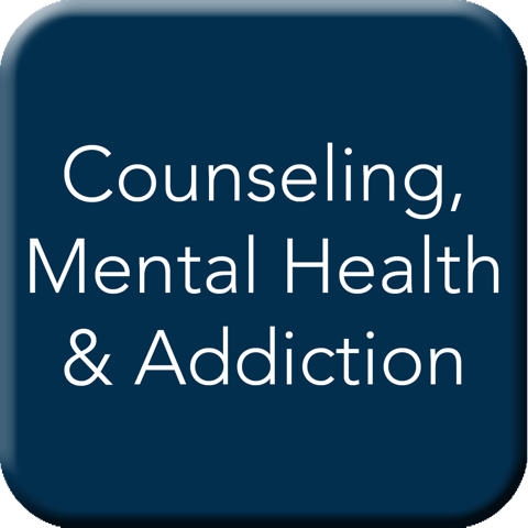 Counseling, Mental Health, and Addiction Button
