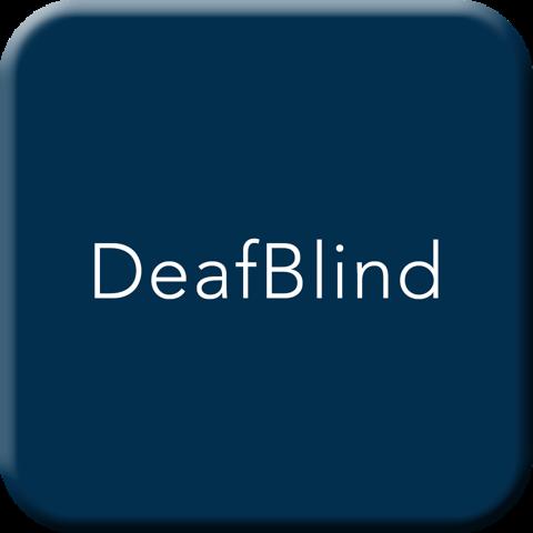 DeafBlind Button