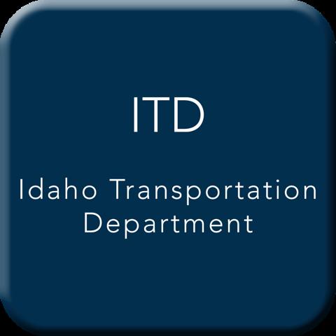 Idaho Transportation Department Button