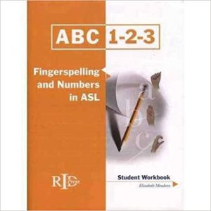 ABC, 1-2-3 Fingerspelling and Numbers in ASL book cover