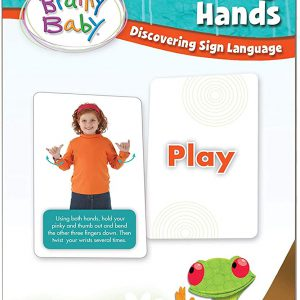 Talking Hands Brainy Baby Flashcards cover